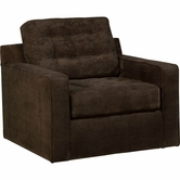 Broyhill 6634-8 Tribeca Swivel Chair