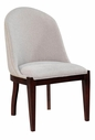 Broyhill 8050-581 Pinstripe Upholstered Slipper Chair