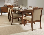 Broyhill 8051-531-551-4X81 Suede Dining Set