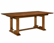 Broyhill 8051-531-551 Suede Dining Table