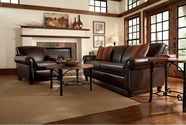 Broyhill 8156 Artisano Leather Sofa Set