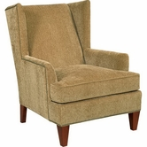 Broyhill 9039-0 Lauren Chair (brass nailhead trim)