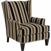 Broyhill 9039-1 Lauren Chair (chrome nailhead trim)