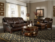 Broyhill L401 Newland Leather Sofa Set