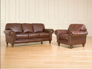 Broyhill L497 Bromley Leather Sofa Set