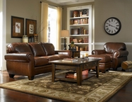Broyhill L783 Hollander Leather Sofa Set