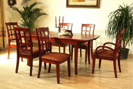 Buy 6 Chairs and Get <Font size=3.5 color=blue><strong>Free Table</font></strong>