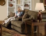 Catnapper 1889 Harbor Reclining Console Loveseat with Storage & Cupholders