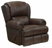 "Catnapper 4736-7-Sable Bonded Leather - Deluxe ""Lay Flat"" Recliner"