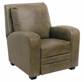 Catnapper 5518-Mink Bonded Leather - Reclining Chair -No Handle