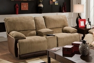 "Catnapper 61349 Clayton ""Power"" Reclining Console loveseat with Storage & Cupholders"