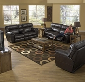 Catnapper 64041-49-40-4 Power-Reclining-Sofa-Loveseat-Recliner Sofa Set