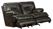 "Catnapper 64299 Cortez ""Power"" Reclining Console loveseat with Storage & Cupholders"
