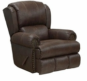 "Catnapper 64736-7-Sable Bonded Leather - ""Power"" Deluxe ""Lay Flat"" Recliner"