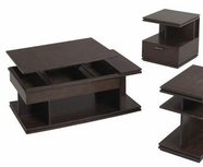 Catnapper 875-049-050 Rectangle-Lift-Top-Cocktail-End-table Set