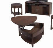 Catnapper 878-049-50 Wedge-Lift-Top-Cocktail-End-Table Set