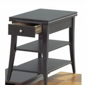 Catnapper 881-357 Black chair side table