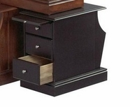 Catnapper 882-357 Black chair side table