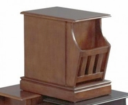 Catnapper 883-157 Oak chair side table
