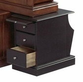 Catnapper 883-357 Black chair side table