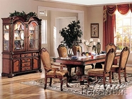 Chateau De Ville Dining Set in Cherry Finish - Acme 4075-77
