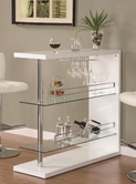 Coaster 100167 BAR TABLE (WHITE)