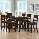 Coaster 100458-4X59 Julius Pub Table & Stool Set