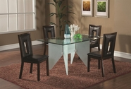 Coaster 100480 DINING TABLE (FROSTED)