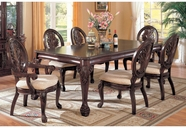 Coaster 101031 Tabitha Cherry Dining Set