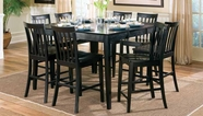 Coaster 101038Blk Counter Height Table