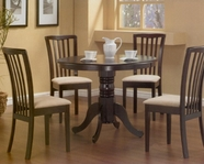Coaster 101081 Brannan Maple 5Pc Dining Set