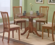 Coaster 101091 Brannan Us Oak 5Pc Dining Set