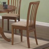 Coaster 101092 DINING CHAIR (MAPLE)