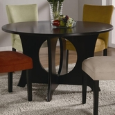 Coaster 101661 DINING TABLE (BLACK STAIN)