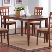 Coaster 101771 DINING TABLE (WARM WALNUT)