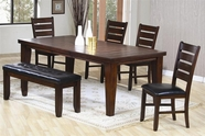 Coaster 101881-82-83 Oak Dining Set