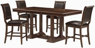 Coaster 101978-4X79 Sullivan 5 Piece Pub Set with Upholstered Seating