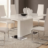 Coaster 102310 DINING TABLE (WHITE)