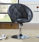 Coaster 102580 SWIVEL CHAIR (BLACK)