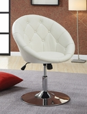 Coaster 102583 SWIVEL CHAIR (WHITE)