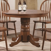 Coaster 102661 DINING TABLE (OAK OIL)