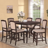 Coaster 102768-4X69 Memphis Counter Height Table and Chair Set
