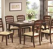 Coaster 102841 DINING TABLE (WALNUT)