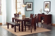 Coaster 102941-4X42 Prewitt Contemporary Dining Set