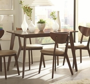 Coaster 103061 DINING TABLE (WALNUT)