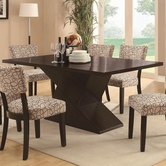 Coaster 103160 DINING TABLE (CAPPUCCINO)