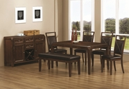 Coaster 103171-72-73 DINING ROOM SET