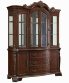 Coaster 103444 BUFFET/HUTCH (CHERRY)