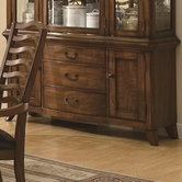 Coaster 103544B BUFFET ONLY (BROWN OAK)