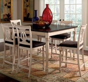 Coaster 103588-4X89 Camille Transitional Counter Height Dining Set